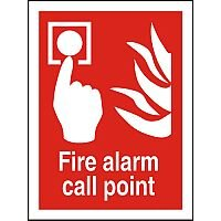 Photolum Fire Sign 200x300 1mm Fire Alarm Call Point