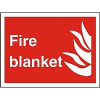 Photolu Fire Fighting Sign 200x300 1mm Plastic Fire Blanket