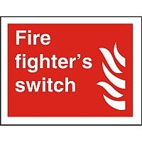 Photolum Fire Sign 200x300 1mm Fire Fighter's Switch