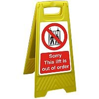 Free Standing Sign 300x600 Sorry This lift is Out of Order Ref FSS024300x600