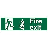 NHS Compliant Sign 600x200 1mm Fire Action If You Discover A Fire