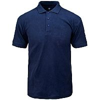 Supertouch Polo Shirt Classic Polycotton Small Navy Ref 56CN1