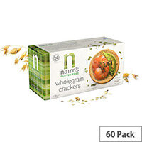 Nairns Gluten Free Wholegrain Crackers Pack of 60