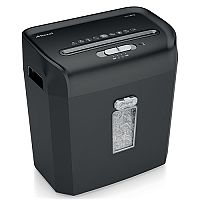 Rexel Promax RPX612 Personal Shredder Cross Cut P-4 4x35mm Slate Grey Ref 2101843A