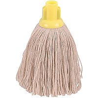 Robert Scott & Sons Socket Mop Head Twine for Rough Surfaces 12oz Yellow [Pack 10]