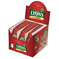 Lyons Gold Blend Tea Individually Wrapped Tea Bags Pack of 200