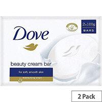 Dove Classic Hand Wash Cream Bars (Pack 2)