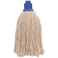 Robert Scott & Sons Socket Mop Head for Rough Surfaces PY 16oz Blue [Pack 10]