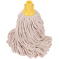 Robert Scott & Sons Socket Mop Head for Smooth Surfaces PY 16oz Yellow Ref PJYY1610 [Pack 10]