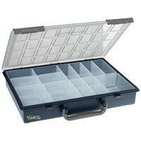 Raaco Assorter Storage Box with 14 Inserts Blue