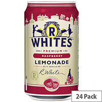 R-Whites 330ml Raspberry Drink Lemonade Pack of 24