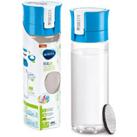 Brita Fill&Go Vital 0.6 Litre Water Filter Bottle MicroDisc Blue