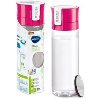 Brita Fill&Go Vital 0.6 Litre Water Filter Bottle MicroDisc Pink