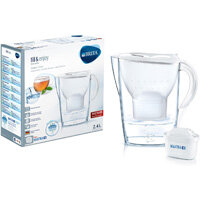 Brita Fill&Enjoy Marella 2.4 Litre Water Filter Jug MAXTRA+ Filter White