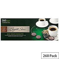 Elizabeth Shaw Mint Crisps Cream Dark Chocolates Individually Wrapped Pack of 260