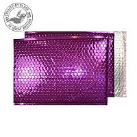 Purely Packaging Padded Envelope P&S C5+ Metallic Purple Ref MBPUR250 [Pk 100]