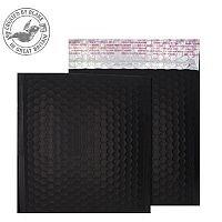 Purely Packaging Bubble Envelope P&S CD Matt Metallic Charcoal Ref MTB450 [Pk100]