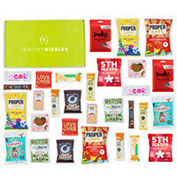 Healthy Nibbles Nut Free Snack 60 Piece Office Box Ref NutFree60