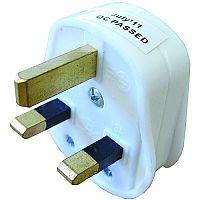 13 amp UK 3 Pin Plug Top