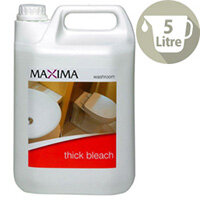 Maxima 5 Litre Thick Bleach Cleaners Pack 1