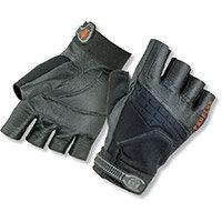 Ergodyne ProFlex 900 Impact Fingerless Small Work Gloves Black