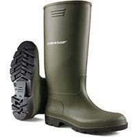Dunlop Pricemastor Wellington Boot Size 4 Green Ref BBG04