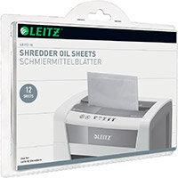Leitz Oil Sheets for IQ Shredder Ref 80070000 Pack of 12