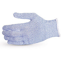 Superior Glove Sure Knit Cut-Resistant Food Industry Glove XS Blue Ref SUS10SXBXS