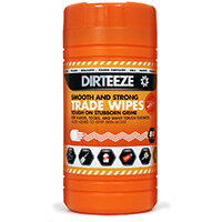 Dirteeze Smooth & Strong Trade Wipes Dispenser Tub 300x200mm Ref DZSS80 [80 Wipes]
