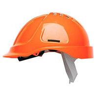 Scott Safety Style 600 HC600 Hi-Vis Vented Helmet with Terylene Standard Headgear Orange Ref HC600VHO