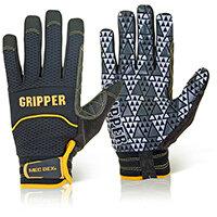 Mecdex Rough Gripper Mechanics Glove L Ref MECPR-741L