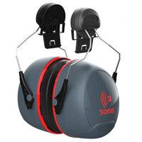 JSP Sonis 3 Helmet Mounted Ear Defenders - High Attenuation