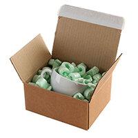 Blake Envelopes Purely Packaging 160mm x 130mm x 70mm Peel and Seal Postal Box Kraft Pack of 20 Ref PEB10