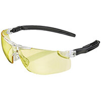 BBrand Heritage H50 Safety Spectacles Yellow Ref BBH50Y