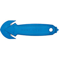 Pacific Handy Cutter Concealed Blade Safety Cutter Ambidextrous Blue Ref EZ-2PLUS