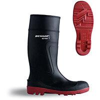 Dunlop Actifort Warwick Safety Wellington Boot Size 6 Black Ref D886406