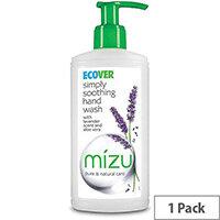 Ecover Liquid Hand Soap Pump Dispenser 250ml Lavender Scent (Pack 1)