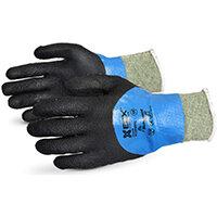 Superior Glove Emerald Cx Liquid Proof Kevlar/WireCore 11 Black Ref SUSCXPNTFC11