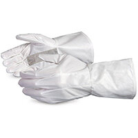 Superior Glove Ground Hog Electro-Static Spray Painting Gloves L White SU1401L2GH