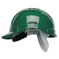 Scott Safety Style 300 HC300EL Vented Helmet with Terylene Standard Headgear Green Ref HC300VELG