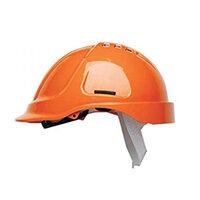 Scott Safety Style 600 HC600 Vented Helmet with Terylene Standard Headgear Orange Ref HC600VO