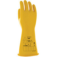 Ansell Low Voltage Electrical Insulating Gloves (Class 0) Yellow XL Ref ANE014YXL