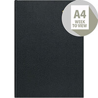 Collins 2020 Desk Diary Week to View Sewn Binding A4 297x210mm Assorted Ref A40 2020