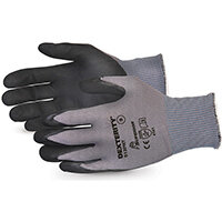 Superior Glove Dexterity Black Widow Grip High Abrasion 10 Black Ref SUS13PNT10