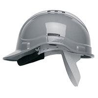 Scott Safety Style 300 HC300EL Vented Helmet with Terylene Standard Headgear Grey Ref HC300VELGY