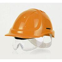 Scott Safety Style 600 HC600 Vented Helmet with Integrated Eyeshield and Terylene Standard Headgear Orange Ref HC600VOR-HXSPEC