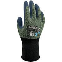 Wonder Grip Glove WG-300 Comfort Medium Black/Green Ref WG300M Pack of 12