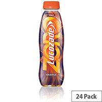 Lucozade Zero 380ml Orange Drink Bottle Pack of 24
