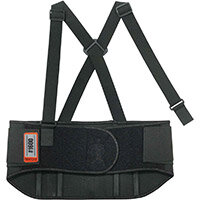 Ergodyne ProFlex 1600 Standard Elastic Large Back Support Belt Black