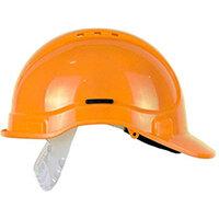 Scott Safety Style 300 HC300EL Vented Hi-Vis Helmet with Terylene Standard Headgear Orange Ref HC300VELHO